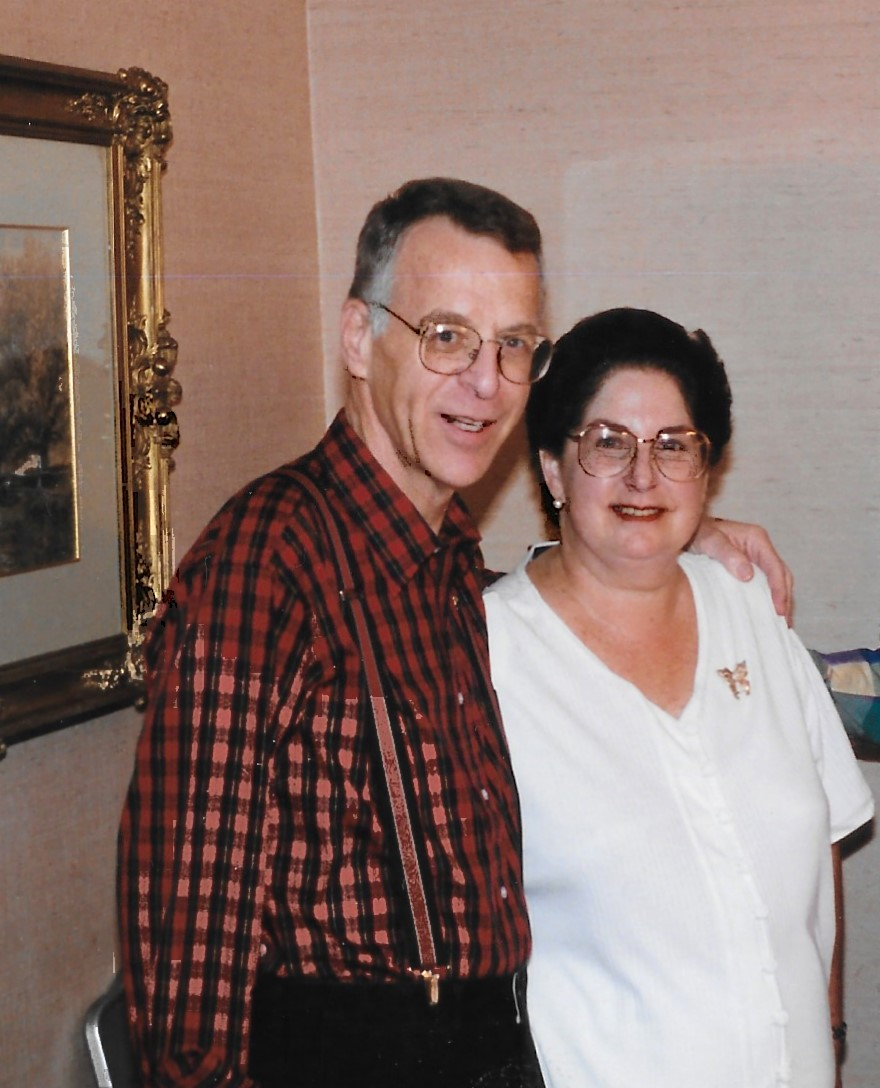 Scholarship Fund photo Ruth and Nathan Feldstein - 1996